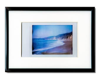 "Fine Art Photography ""Point Reyes"" Framed Instax Mini Print"