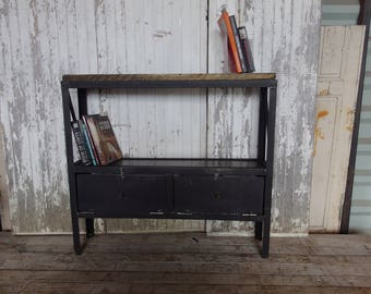 Steel and wood Dresser, industrial style furniture