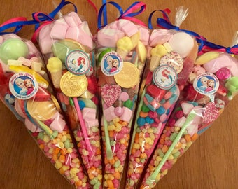 Personalised candy cones