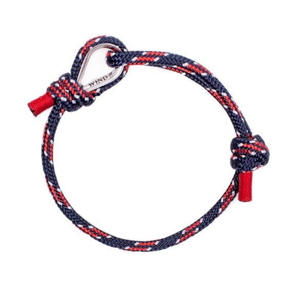 ROPE BRACELET - navy blue bracelet, men bracelet, bracelets for teenagers, arm bracelet, nautical jewelry, nautical bracelet sailing jewelry