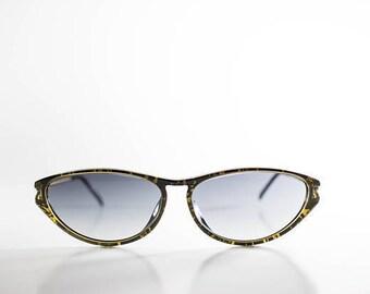 CHRISTIAN DIOR Vintage Sunglasses Women Red Metal Plastic Cat Eye 1990s CHRS59Q-2