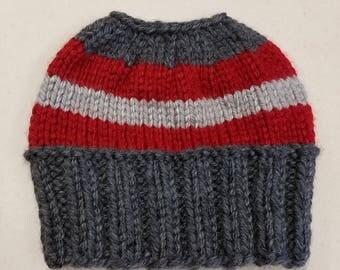 Top Opening Ponytail Hat
