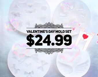 Valentine's Day mold set