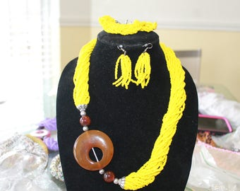 African jewelry set