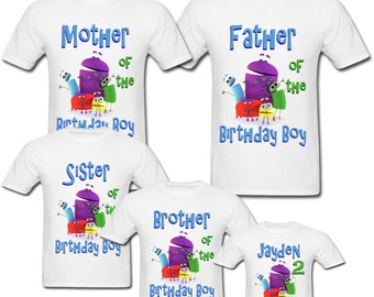 Personalized StoryBots Birthday shirt for Family