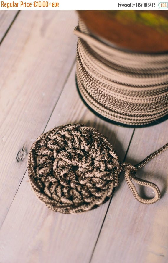 15 % OFF MIXED BROWN yarn, diy crafts, craft supplies, diy projects, colored rope, chunky yarn, craft yarn, rope cord, polyester cord. #4/8