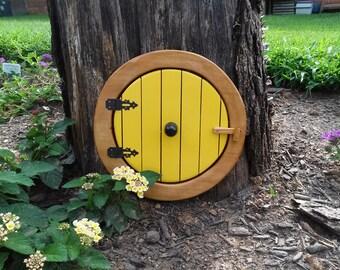 Handmade Wooden Hobbit door - Medium