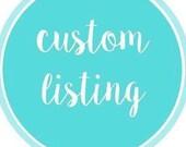 Custom listing for N