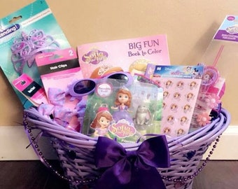 Sofia The First Easter Basket ONLY