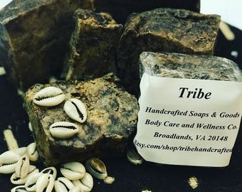 West African Raw Black Soap 4oz