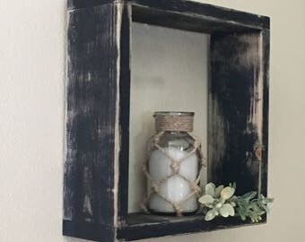 Shabby Chic Decor, Wood Shelf, Decorative Shelf, Farmhouse Decor, Ready to Ship