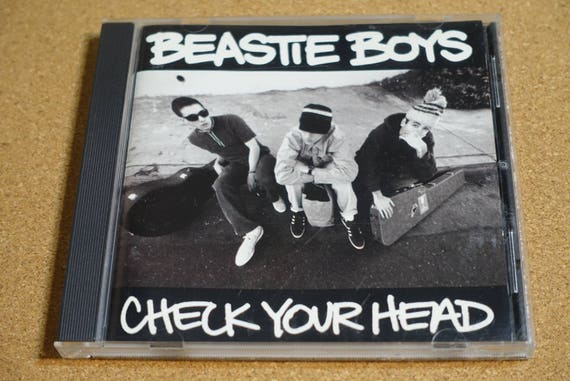 Check Your Head by Beastie Boys Vintage CD Compact Disc