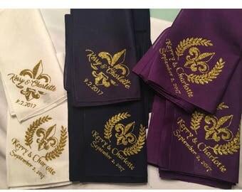 Glitter Wedding or party secondline handkerchief