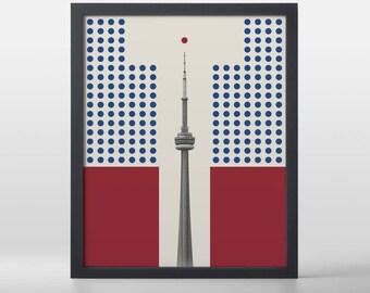 Vintage Toronto T-Dot Art Print