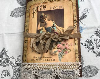 La Belle Époque Vintage Junk Journal