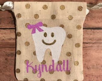 Mini Tooth Fairy Bags