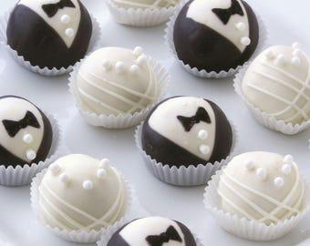 Bride & Groom Cheesecake Truffles