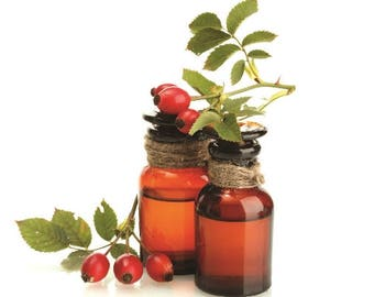Rosehip Seed Oil Cold Pressed Refined Ships for 1 Penny Sample,1,2,4,6,8,12,16 oz