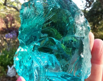 1.8lb. Gorgeous 'Turquoise' Andara Crystal!  792g