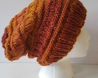 Shades of Orange Slouchy Hat
