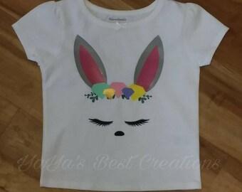 Bunny Face Shirt Easter Shirt
