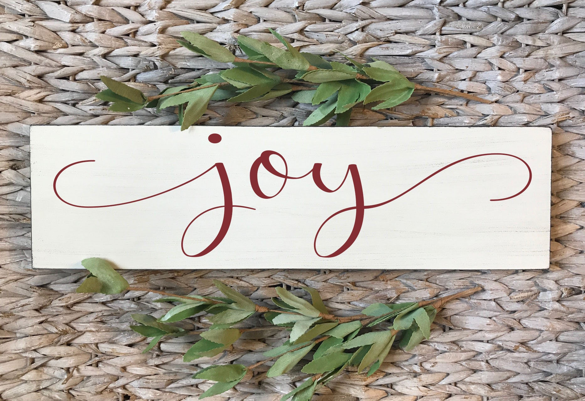 Christmas Sign Joy Choose Wall Decor