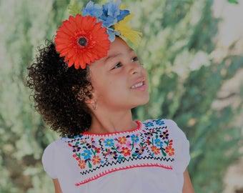 Puebla Kids Blouse
