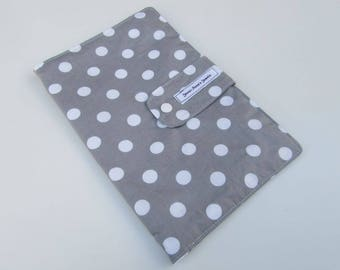 Nappy Wallet - Light Grey Spots
