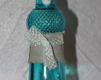 Pretty blue style and decorative bottle