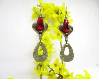 Port royal Ruby Earrings.