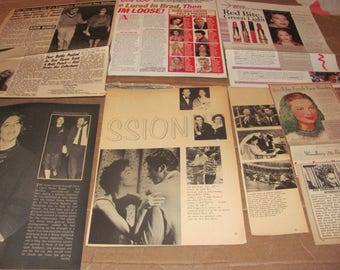 AVA  GARDNER   #8  CLIPPINGS  #0614