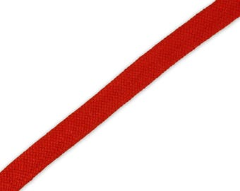 1 m braided Cord Red 14 mm