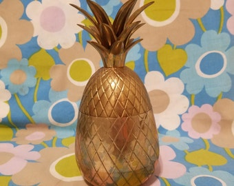 Brass Pineapple 7.5 inches tall