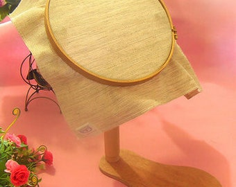Embroidery Hoop 360 degree rotation wooden Cross Stitch Rack Lacis Tambour Round Adjustable Desktop Frames 28 CM