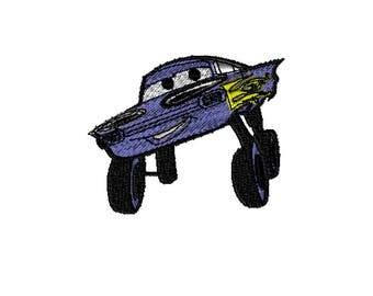 Embroidery File, 5x7 Embroidery, Disney Cars, Digital File, Embroidery Pattern, Machine Embroidery, Choose Your Format, Choose Your Size