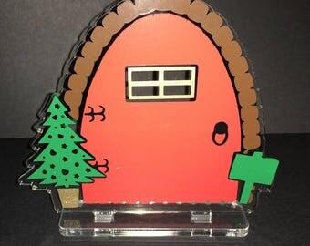 Elf Door - Personalised - Handmade - Fairy door - Christmas Elf Door - Gift