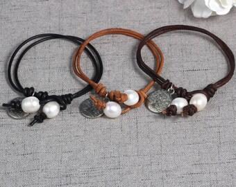 Delicate bead Bracelet Delicate Bracelet Set of silver tree Delicate Jewelry