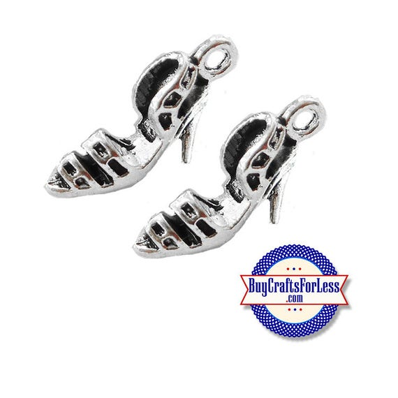 SHOEs, High Heel Dress SHOE Charms, NeW STYLE, 6, 12, 24 pcs +FREE Shipping & Discounts*