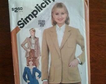 Vintage Simplicity 5202 pattern   SIZE  12  1981