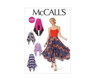 McCall's 7170 - Handkerchief-Hem Skirt Pattern