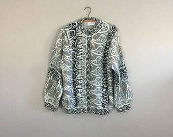 80's Knit Cardigan