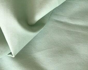 Fabric upholstery velvet shaved 142 cm width green water