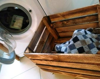 Laundry cabinet wood, laundry basket, laundry bag, laundry bags, storage laundry, laundry, wood chest, laundry, wooden stool, chest, side table