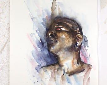 Yona, original painting