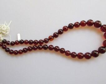 Baltic Dark Amber Necklace