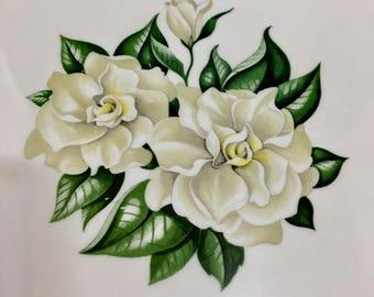 "Vintage Homer Laughlin Magnolia Nautilus Platter 13 1/2"""