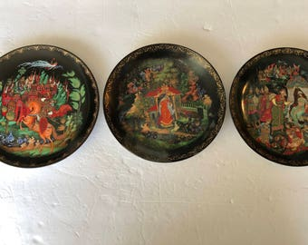 Bradford Exchange Russian Plates - Lot of 3
