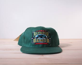 Atlanta 1996 Team Hanes Olympic Summer Games snapback hat