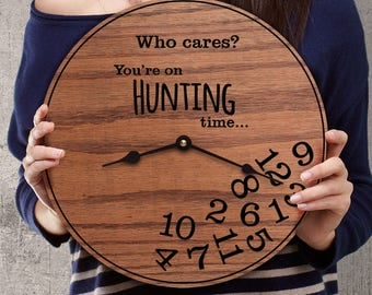 Funny Gifts for Hunters - Hunter Gifts - Gifts for Deer Hunters - Gifts for Pheasant Hunters - Gifts for Duck Hunters - Hunting Time