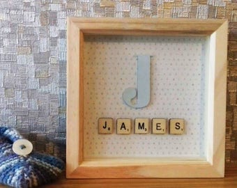 Personalised Gift Frame Boxes - Births - Christenings - Weddings - 3D Craft